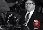 Image of Kefauver hearings New York United States, 1950, second 16 stock footage video 65675041140