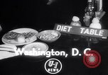 Image of Dieting Program Washington DC USA, 1952, second 2 stock footage video 65675041156