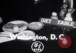 Image of Dieting Program Washington DC USA, 1952, second 3 stock footage video 65675041156