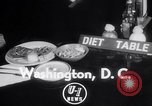 Image of Dieting Program Washington DC USA, 1952, second 4 stock footage video 65675041156