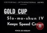 Image of Slo-mo-shun IV hydroplane Seattle Washington USA, 1952, second 1 stock footage video 65675041158