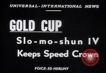 Image of Slo-mo-shun IV hydroplane Seattle Washington USA, 1952, second 2 stock footage video 65675041158