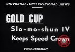 Image of Slo-mo-shun IV hydroplane Seattle Washington USA, 1952, second 6 stock footage video 65675041158