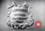 Image of Longines-Wittnauer New York United States USA, 1952, second 2 stock footage video 65675041162