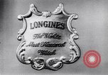 Image of Longines-Wittnauer New York United States USA, 1952, second 7 stock footage video 65675041162