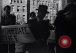 Image of Unemployed people protest Trenton New Jersey USA, 1936, second 10 stock footage video 65675041171