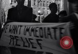 Image of Unemployed people protest Trenton New Jersey USA, 1936, second 11 stock footage video 65675041171