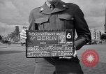 Image of Brandenburg Gate Berlin Germany, 1952, second 2 stock footage video 65675041181