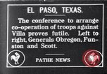 Image of General Obregon El Paso Texas USA, 1916, second 1 stock footage video 65675041207