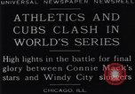 Image of 1929 World Series Baseball Chicago Illinois USA, 1929, second 4 stock footage video 65675041239