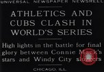 Image of 1929 World Series Baseball Chicago Illinois USA, 1929, second 5 stock footage video 65675041239
