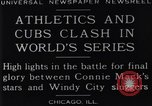 Image of 1929 World Series Baseball Chicago Illinois USA, 1929, second 6 stock footage video 65675041239