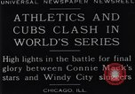 Image of 1929 World Series Baseball Chicago Illinois USA, 1929, second 7 stock footage video 65675041239