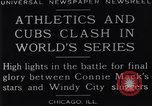 Image of 1929 World Series Baseball Chicago Illinois USA, 1929, second 8 stock footage video 65675041239