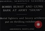 Image of 1929 United States Army exhibition show Aberdeen Maryland USA, 1929, second 2 stock footage video 65675041240