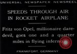 Image of Fritz Von Opel Frankfurt Germany, 1929, second 3 stock footage video 65675041245