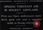Image of Fritz Von Opel Frankfurt Germany, 1929, second 10 stock footage video 65675041245