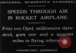 Image of Fritz Von Opel Frankfurt Germany, 1929, second 12 stock footage video 65675041245