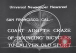 Image of Rhythm Bicycles San Francisco California USA, 1933, second 6 stock footage video 65675041254