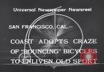 Image of Rhythm Bicycles San Francisco California USA, 1933, second 9 stock footage video 65675041254