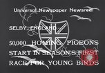 Image of Pigeons Selby England, 1933, second 5 stock footage video 65675041255
