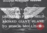 Image of James Mollison New York United States USA, 1933, second 1 stock footage video 65675041256