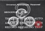 Image of Automobile Bridgeport Connecticut USA, 1933, second 1 stock footage video 65675041257