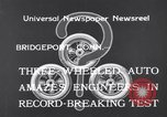 Image of Automobile Bridgeport Connecticut USA, 1933, second 3 stock footage video 65675041257