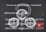 Image of Automobile Bridgeport Connecticut USA, 1933, second 4 stock footage video 65675041257