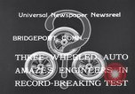 Image of Automobile Bridgeport Connecticut USA, 1933, second 8 stock footage video 65675041257