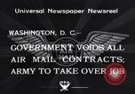 Image of Air mail Washington DC USA, 1934, second 4 stock footage video 65675041260