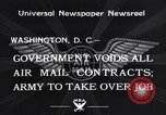 Image of Air mail Washington DC USA, 1934, second 6 stock footage video 65675041260