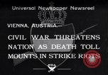 Image of Strikers riot Vienna Austria, 1934, second 1 stock footage video 65675041261