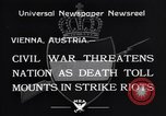 Image of Strikers riot Vienna Austria, 1934, second 8 stock footage video 65675041261