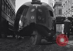 Image of Buckminster Fuller's Dymaxion car New York City USA, 1934, second 10 stock footage video 65675041264