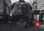 Image of Buckminster Fuller's Dymaxion car New York City USA, 1934, second 12 stock footage video 65675041264