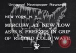 Image of Cold wave New York United States USA, 1934, second 1 stock footage video 65675041266