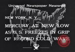 Image of Cold wave New York United States USA, 1934, second 2 stock footage video 65675041266