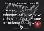 Image of Cold wave New York United States USA, 1934, second 9 stock footage video 65675041266