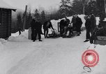 Image of Bobsled Lake Placid New York USA, 1934, second 10 stock footage video 65675041268
