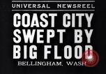 Image of Bellingham flood Bellingham Washington USA, 1935, second 1 stock footage video 65675041269