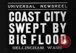 Image of Bellingham flood Bellingham Washington USA, 1935, second 4 stock footage video 65675041269