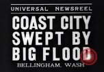 Image of Bellingham flood Bellingham Washington USA, 1935, second 8 stock footage video 65675041269