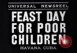 Image of feast day Havana Cuba, 1935, second 1 stock footage video 65675041270