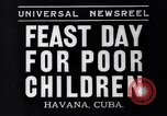 Image of feast day Havana Cuba, 1935, second 2 stock footage video 65675041270