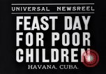 Image of feast day Havana Cuba, 1935, second 3 stock footage video 65675041270