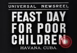 Image of feast day Havana Cuba, 1935, second 4 stock footage video 65675041270