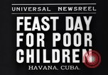 Image of feast day Havana Cuba, 1935, second 7 stock footage video 65675041270