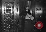 Image of bank security measures against gangster bank robbers Chicago Illinois USA, 1935, second 11 stock footage video 65675041275
