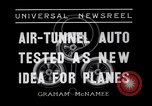 Image of Air-tunnel auto Kansas City Missouri USA, 1936, second 3 stock footage video 65675041296